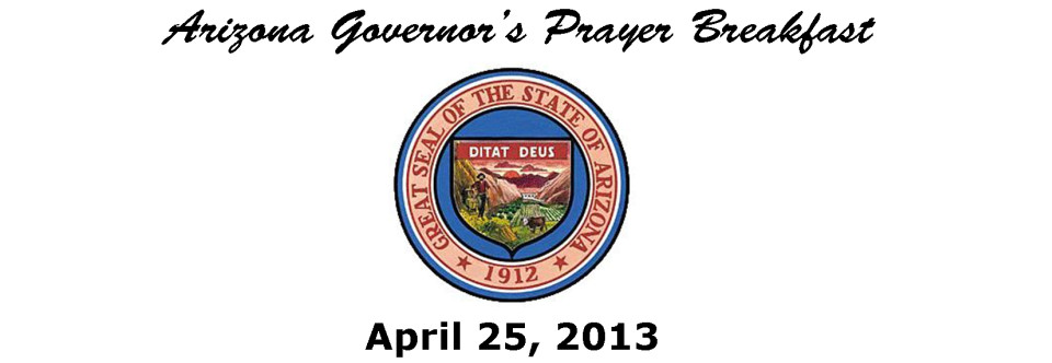 Arizona Governor's Prayer Breakfast